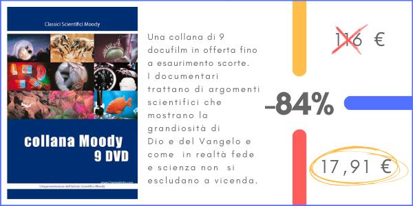 Promozione Collana DVD scientifici Moody