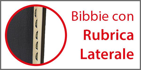 Pagine che raccoglie le Bibbie con rubrica laterale