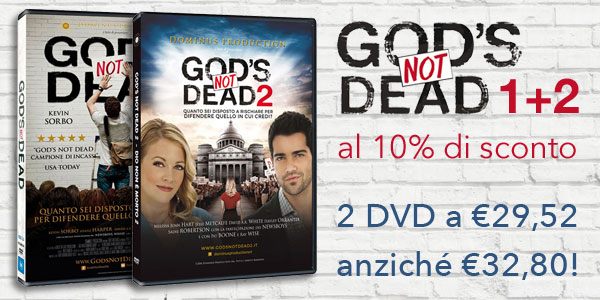Offerta 2 DVD God's not dead 1+2