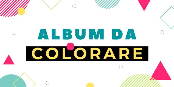 Album da colorare per bambini