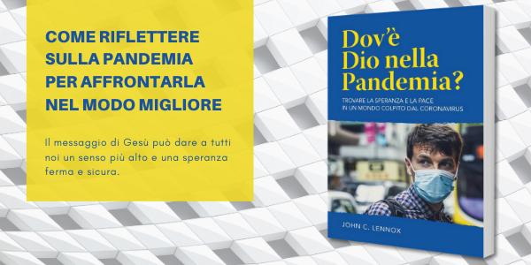 Promozione del libro Dov'è Dio nella pandemia?