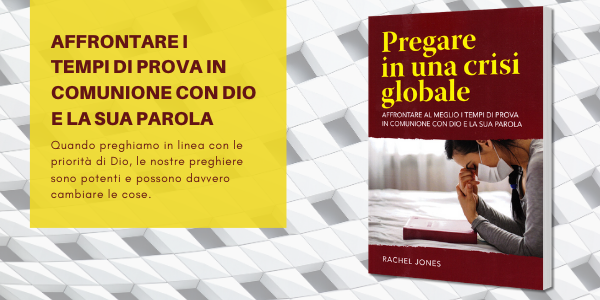 Promozione libro Pregare in una crisi globale