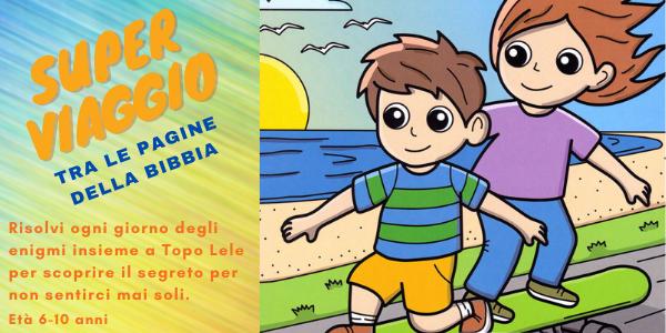 Un libro ricco di contenuti e attività di alto valore pedagogico che offrirà ai bambini momenti di svago e un percorso formativo di crescita tra le pagine della Bibbia.