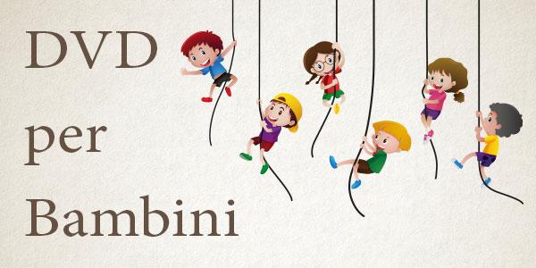 Categoria DVD con film e cartoni animati adatti ai bambini