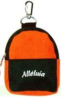 Portachiavi-Alleluia-Arancio-Nero