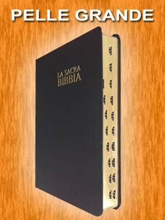 Bibbia Nuova Diodati - B03PNR - Formato grande (Pelle) [Bibbia Grande]