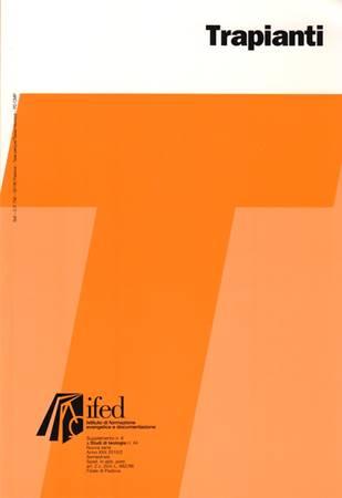 Trapianti (Brossura)