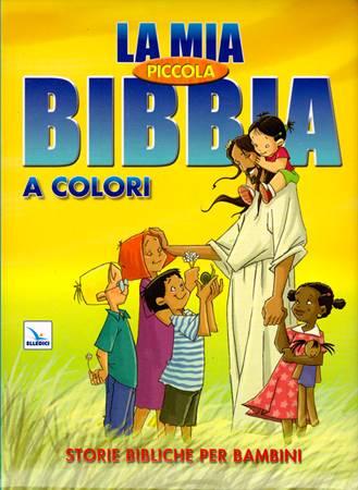 La mia piccola Bibbia a colori - Libro Illustrato (Copertina Rigida Imbottita)