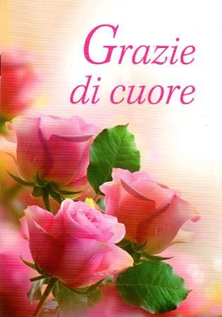 Grazie di cuore - Libretto di auguri (05D 168) (Spillato)