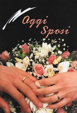 Oggi sposi - Libretto di auguri (05D 44) (Spillato)