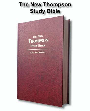 The New Thompson Study Bible KJV