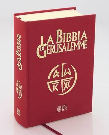 La Bibbia di Gerusalemme copertina rigida telata (Copertina rigida)