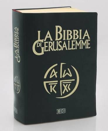 La Bibbia di Gerusalemme in plastica con cofanetto (Copertina Semirigida)