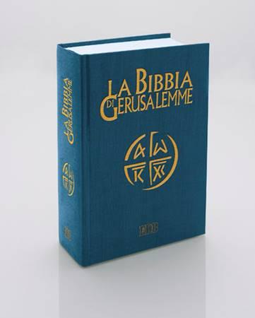 La Bibbia di Gerusalemme Versione da Studio Rigida (Copertina rigida)