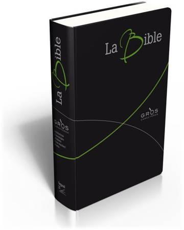 La Bible Gros Caractères - Bibbia in francese a caratteri grandi - 12559 (SG12559) (Pelle)