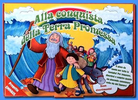 Alla conquista della Terra promessa - Gioco da tavolo per tutta la famiglia (Scatola)