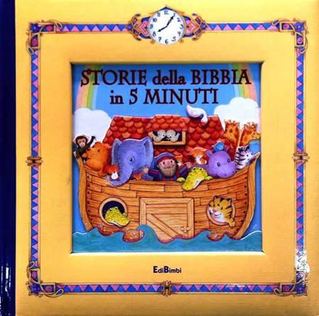 Storie della Bibbia in 5 minuti - Bibbia illustrata (Copertina rigida)