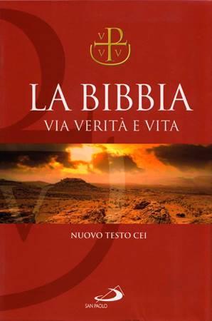 La Bibbia Via Verità e Vita - Nuovo testo CEI - Edizioni San Paolo (Brossura)