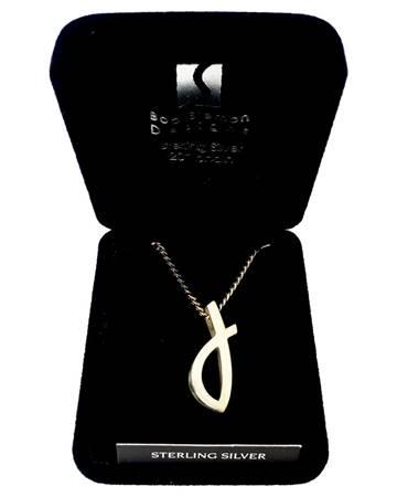 Collana con ciondolo Pesce Sterling silver