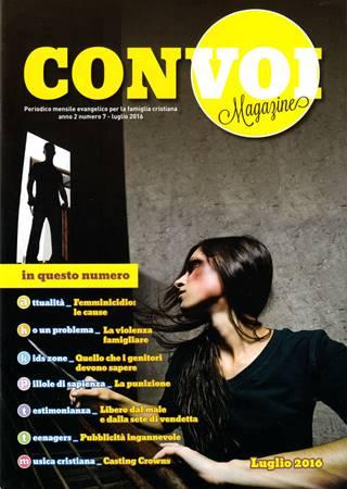Rivista Con voi Magazine - Luglio 2016 (Spillato)