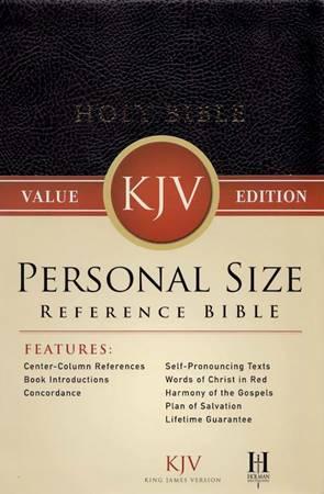Personal Size Reference Bible KJV (Brossura)