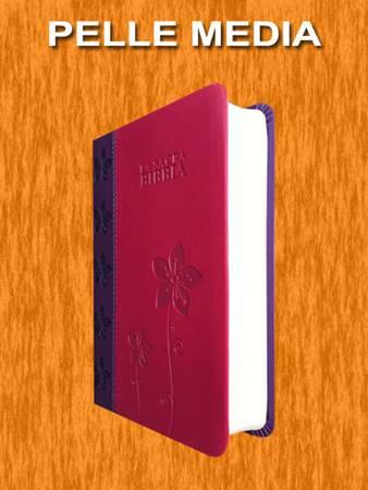 Bibbia Nuova Diodati - A03V - Formato medio (Pelle)