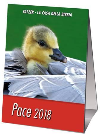 Calendario Pace 2018 - Minicalendario da scrivania