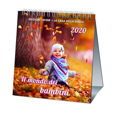 Calendario Il mondo dei bambini 2019 - Calendario da tavolo (Spirale)