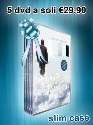 6000 Punti per il Paradiso DVD - Confezione 5 DVD