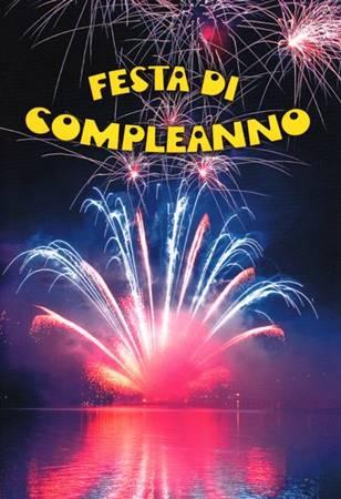Festa di compleanno - Libretto augurale per compleanno (Spillato)