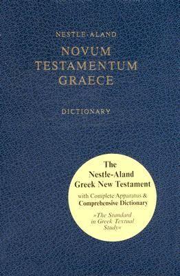 Novum Testamentum Graece - Nuovo Testamento Greco Nestle Aland con apparato di studio (COD. 5115) (Copertina rigida)