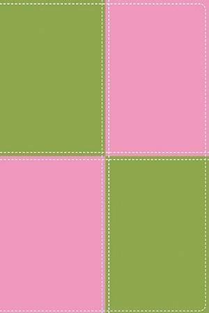 King James Version Thinline Bible, Large Print - Italian Duo-Tone™, Meadow Green/Pink