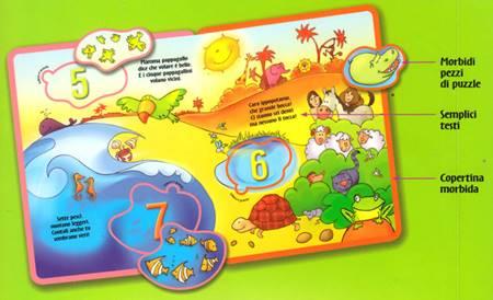 Il paradiso terrestre - Libro attivo per bambini