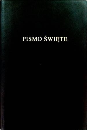 Bibbia in Polacco media similpelle nera (Copertina rigida)