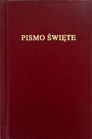 Bibbia in Polacco Tascabile Rigida Bordeaux (Copertina rigida)