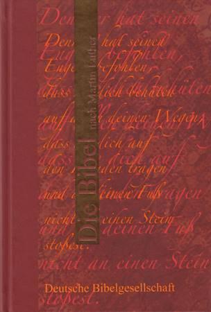 Bibbia in Tedesco Colore Rosso (Copertina rigida)
