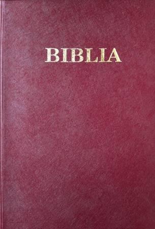 Bibbia in Rumeno formato medio in PVC Rossa, Nera  o Marrone