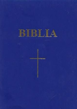 Bibbia in Rumeno tascabile Blu - Parole di Gesù in rosso