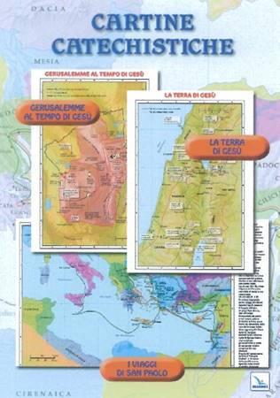 Cartine Bibliche su Gerusalemme, la Palestina e i viaggi di Paolo