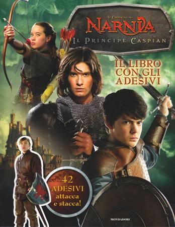 Il principe Caspian con 42 adesivi attacca e stacca! - Cronache di Narnia (Spillato)