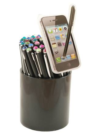 Stylus Pen Touch Screen - Funziona per tutti gli schermi capacitivi (iPhone, iPod, iPad, Galaxy)