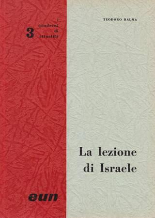 La lezione di Israele (Brossura)