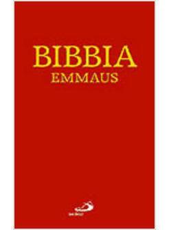 Bibbia Emmaus (Copertina rigida)