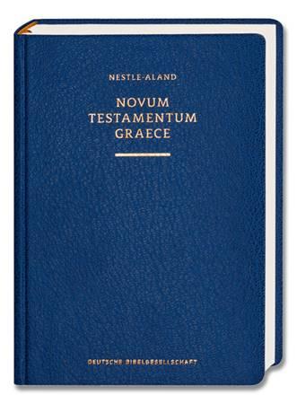 Novum Testamentum Graece Nestle-Aland Scholarly Edition 28 (Nuovo Testamento Greco Nestle-Aland)