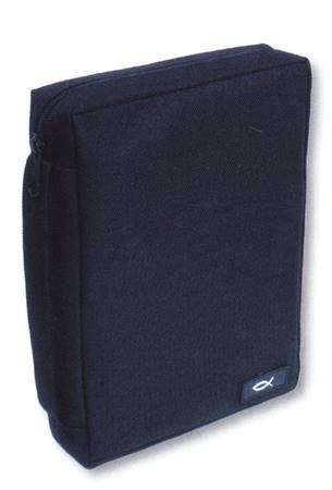 Copribibbia in poliestere Grande (Blu scuro)
