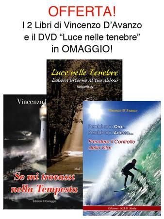 Offerta 2 Libri di Vincenzo D'Avanzo con 1 DVD in omaggio