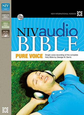 NIV AUDIO BIBLE PURE VOICE 66 CD SET (Borsa Porta CD)