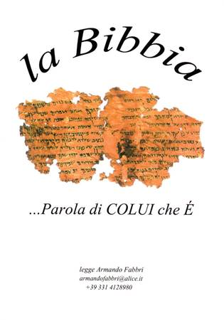 La Bibbia in Mp3 versione Luzzi