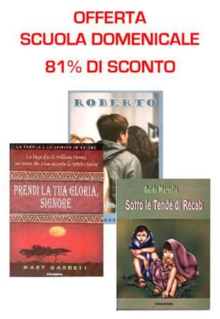 Offerta Scuola domenicale - 30 Libri a più dell'80% di sconto