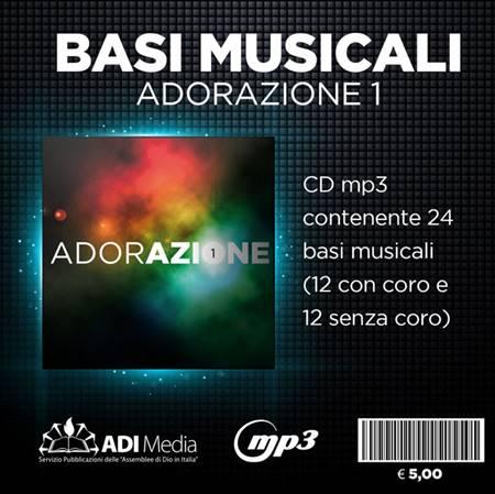 Adorazione 1 - Basi Musicali Mp3